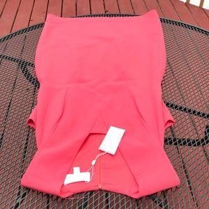 Hugo Boss salmon pink size 10 dress